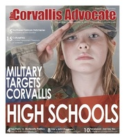 Military Targets Corvallis High Schools: Too Young to Drink, Old Enough to Serve
